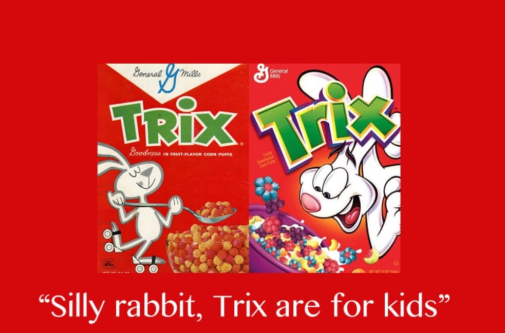 """Food Slogans Ideas: """"Silly Rabbit, Tricks Are For Kids: BLM Was Not For You"""