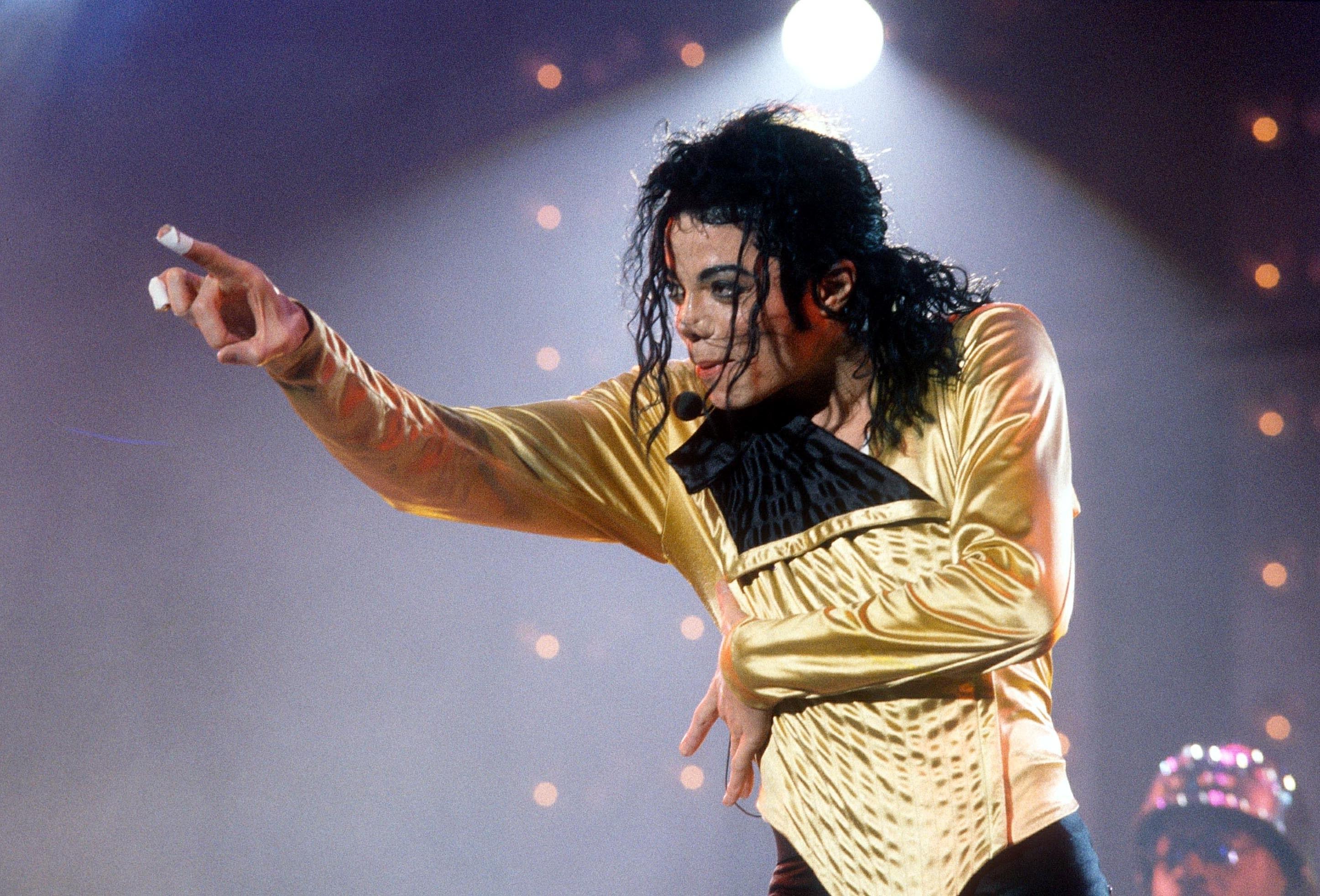 Michael Jackson 'Dangerous Tour', Wembley Stadium, London, Britain - Aug 1992